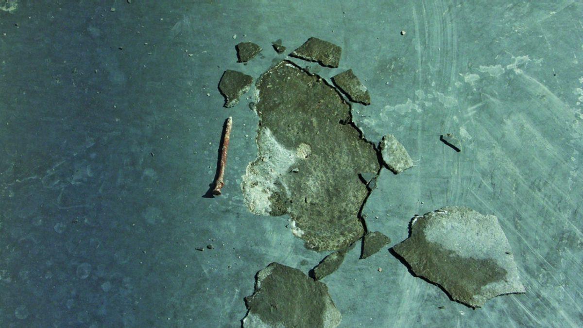 Concrete blisters