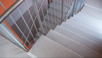 Concrete Stairway Flooring